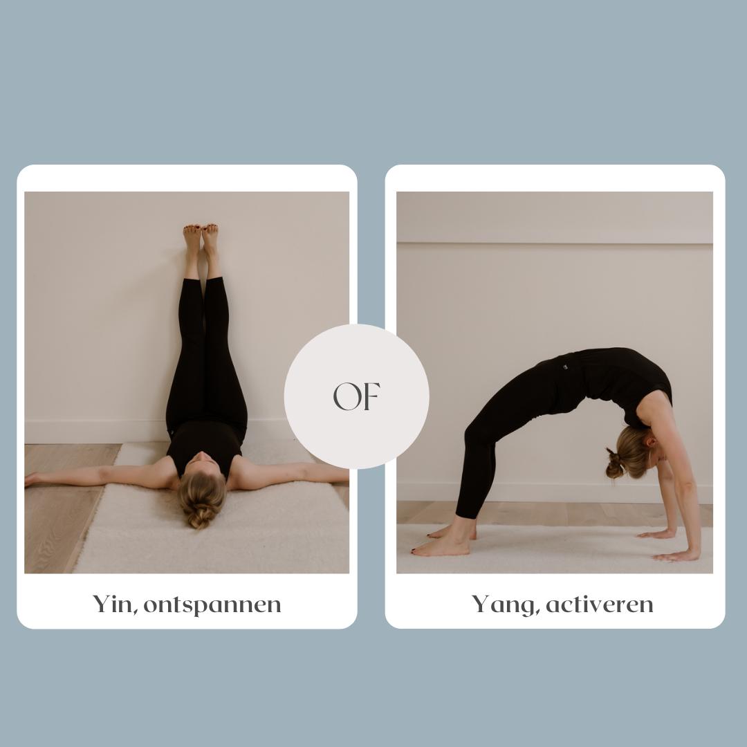 Welke yogavorm past bij mij?