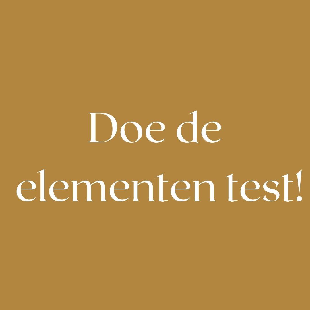 Doe de elementen test!